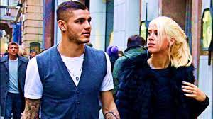Mauro Icardi And His Wife Wanda Nara - YouTube