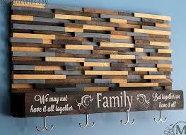 Reclaimed Wood Wall Coat Rack Wood Tile Coat Rack With Floating Shelf by Shop Makarios Coat Rack 61