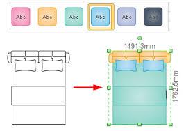 floor plan symbols bedroom. Change Bed Color Floor Plan Symbols Bedroom E