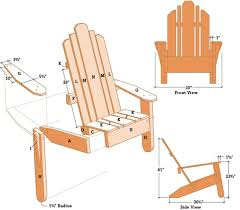 adirondack chair plans. Plain Plans Adirondack Chair Plans To E