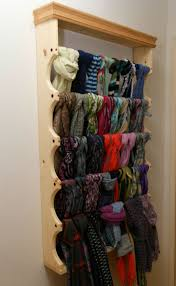 Decent With Ideas About Scarf Rack On Pinterest Tie Rack Closet