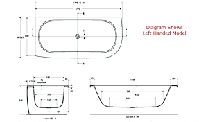 bathtub width standard tub dimensions small hot cover