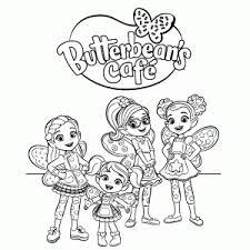 Butterbeans Cafe Kleurplaat Printen Leuk Voor Kids