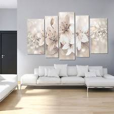 5 posters floral abstract flowers print pictures canvas wall art deco unframed on laura ashley wall art ebay with floral canvas ebay