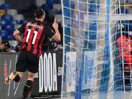 Zlatan Ibrahimovic brace ends decade-long wait for AC Milan win at Napoli -  Eurosport
