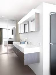 Impressive Modern Bathroom Cabinets Photo In Amsterdam With A Wallmount Sink Decorating