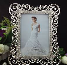 silver modern picture frames. High End 8X10 Inch Sided Rectangle Metal Wedding Frames Silver Box Modern  Picture Frame W/ Art Rhinestones-in From Home \u0026 Garden On Aliexpress.com Silver Modern Picture Frames L