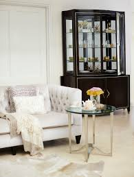 Round Chairside Table Bernhardt Round Chairside Table Lexington Furniture