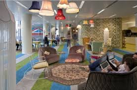 googles plush new offices by penson central saint giles office building google