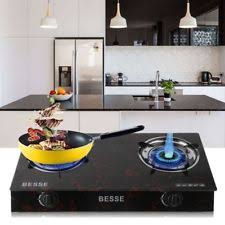 thermador pcg366g. 2 burners stove gas propane range tempered ignition camping glass cooktop bg two thermador pcg366g