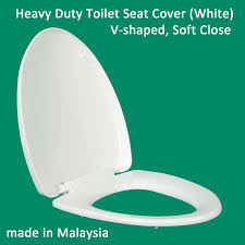 heavy duty soft close toilet seat cover v shaped s hinge top mount