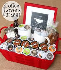 cute diy gift basket idea for coffee using k cups via happy go lucky