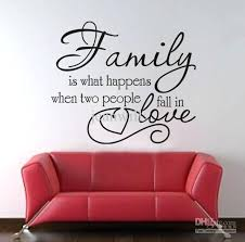 wall stickers decor family love wall e decal decor sticker lettering saying vinyl wall art stickers