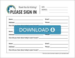 editable full sign in sheet