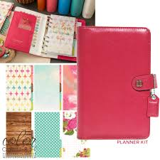 Websters Pages Color Crush Dark Pink Personal Planner Kit