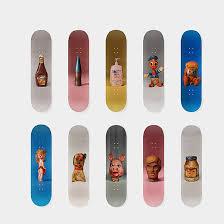 Skateboards Designs Paul Mccarthy Designs 30 000 Skateboard For Charity