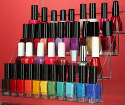 diy nail polish rack instructions