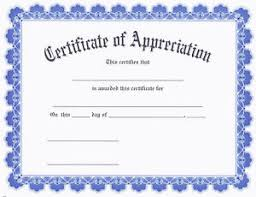 Certificate Of Appreciate Details About Award Certificate Of Appreciation Contemporary Blue Border Pack Of 15
