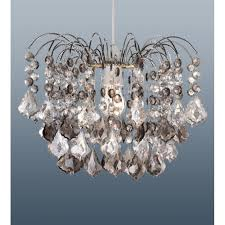 modern 2 tier granite acrylic crystal ceiling pendant light lamp chandelier shade