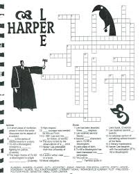 higginbotham michelle to kill a mockingbird harper lee crossword puzzle