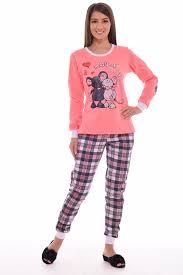 Пижама <b>женская</b> 1-103а (персик) от компании Новое Кимоно, г ...