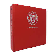 2in Binder Imp Cornell Binder 2in Seal W Cornell Red