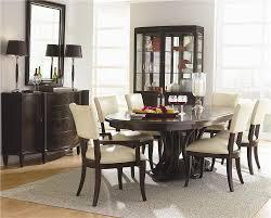 Westwood  Piece Formal Dining Set By Bernhardt Belfort - Formal oval dining room sets