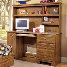 Shaker Computer Desk with Shelf Storage and Tower Door by Lang