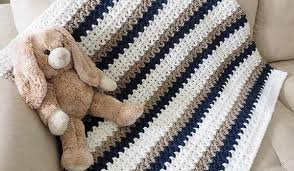 Quick And Easy Crochet Patterns Custom Free Pattern] Make One Baby Blanket A Day With This Quick And Easy