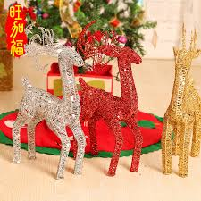 get ations window display ornaments decorations tree accessories gifts gift deer deer iron plating