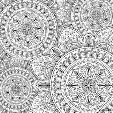 Fotografie Obraz Doodle Pattern With Ethnic Mandala Ornament