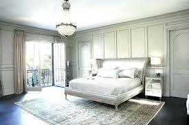 area rug under bed modern rug in bedroom