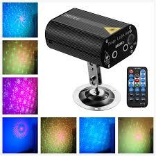 Online Laser Light Show Hotec Laser Party Lights With Vivid Led Background Sound