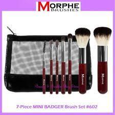 new morphe brushes 602 mini badger 7 piece brush