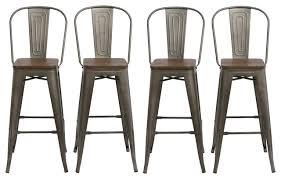 set of 4 bar stools. Set Of 4 Bar Stools Brilliant Amazon Com Buschman Four 24 Inches Minimalist S