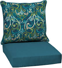 outdoor patio chair cushion high back blue replacement deep seat furniture new