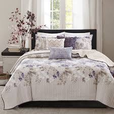 Madison Park Piper Floral 6-pc. Quilted Coverlet Set - JCPenney & Madison Park Piper Floral 6-pc. Quilted Coverlet Set Adamdwight.com