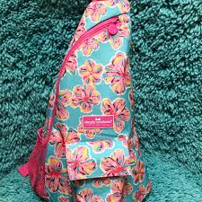 Simply Southern New Designs Nwt Simply Southern Preppy Bag Collection Hibiscus