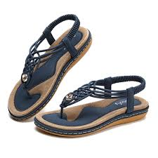 Socofy Size Chart Socofy Us Size 5 13 Women Shoes Knitted Casual Soft Sole Outdoor Beach Sandals