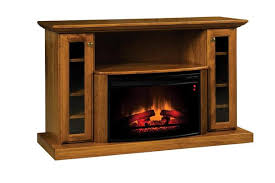 elizabethtown classic 54 fireplace tv stand from dutchcrafters amish rh dutchcrafters com amish fireplace heater tv