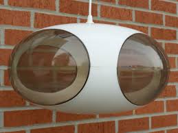 Details About 564 Ufo Lamp By Luigi Colani About 1970 White With
