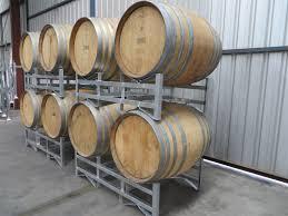 storage oak wine barrels. Wbr 2 Wine Barrel Rack 4 Storage Oak Barrels