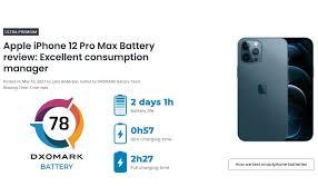 Bài test pin DXOMARK: iPhone 12 Pro Max đứng thứ 4, thời lượng pin hơn 2  ngày, quản lý pin xuất sắc