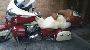 sheepskin motorcycle seat cover beautiful is anyone using a sheepskin cover on their roadmaster seat