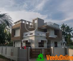 2000 sq ft double floor contemporary home design veeduonline