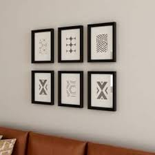 kate and laurel calter 6 piece framed black and white print art set on matching wall art prints with buy framed prints online at overstock our best matching sets deals