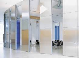 tall office partitions. Movable Tall Glass Room Divider For Office Interior Combined With White Ceramic Tiled Floor, Fascinating Partitions