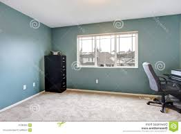 free home office. Home Office Awesome House Room. Simple Room Interior With Blue Walls Royalty Free