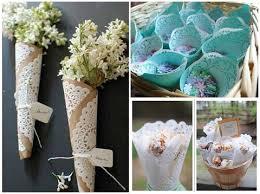 paper cones wedding. confetti cone doilies paper cones wedding