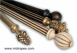 decorative curtain rod finials photo of nifty decorative inlaid wood rods rings finials minimalist